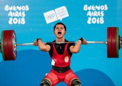 Jeremy smashes national and his own Youth World record