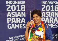 Deepa Malik elected Paralympic Committee president