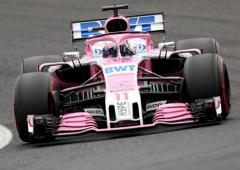 Force India name disappears from Formula One