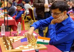 Anand struggles but India's youngsters shine at Isle of Man chess