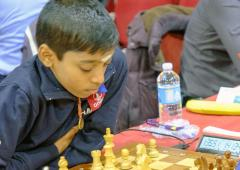 13-year-old Praggnanandhaa stuns Eljanov at Isle of Men chess