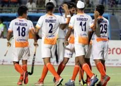 India thrash Korea to storm into Asian Champions Trophy semis