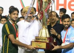India-Pak joint winners of Asian Champions Trophy
