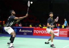 Olympic medallist Boe to work with Chirag-Satwik