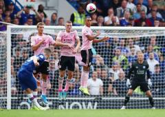 EPL PIX: Chelsea held by Leicester at Stamford Bridge