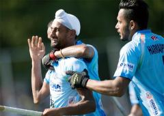 Hockey: Mandeep 'tricks' India to big win over Japan