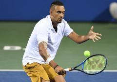 Tennis legend Laver calls for Kyrgios ban