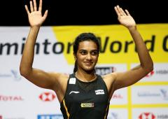 'People started calling me silver Sindhu'