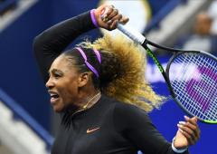 US Open PIX: Serena whips Sharapova; easy for Djokovic