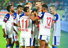 Juanan fires Bengaluru to the top of ISL