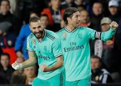 La Liga PICS: Real salvage draw after Courtois header