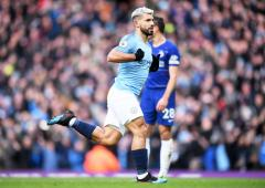 Man City's Aguero unhurt after car crash: report