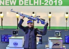 Sports Shorts: Chandela is World No 1 in 10m air rifle