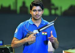 Saurabh wins silver in Asian Shooting Championship