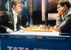 Sports Shorts: Anand loses to Carlsen in Tata Steel chess