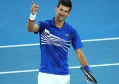 I believe I can beat Federer's Slam record: Djokovic