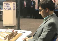 Tata Steel chess: Anand finishes joint third