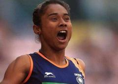 Sports Shorts: Another gold for Hima within a week