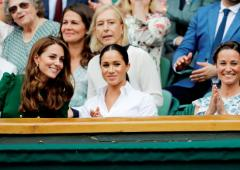 PICS: Royals Kate-Meghan, UK PM May at Wimbledon final