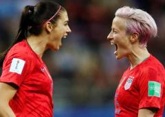 Equal pay case: Morgan, Rapinoe vow to push forward