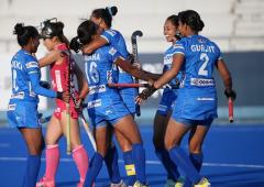 India women win FIH Series Finals