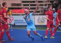 Azlan Shah hockey: Mandeep 'tricks' in Canada rout