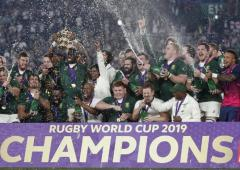 Rainbow nation turns gold as Springboks lift World Cup