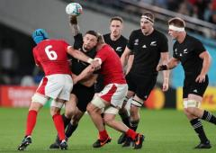 Rugby WC: New Zealand take third place with win over Wales