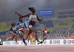 World Athletics PIX: Asher-Smith takes 200m gold