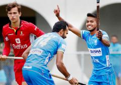 India thrash Belgium 5-1 in final tour match