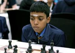 World Youth Chess: Praggnanandhaa jumps into jt lead