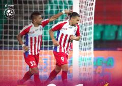 ATK edge past Chennaiyin FC to go top of ISL