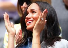 As Serena fights, a duchess watches