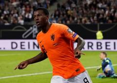 Euro Qualifiers PIX: Netherlands rally to stun Germany