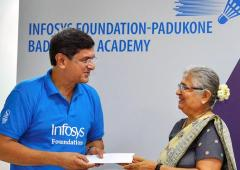Padukone Academy-Infosys to groom young shuttlers