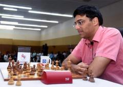 Tata Steel Chess: Anand draws with Vituigov