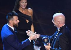 Messi wins FIFA player of the year for record sixth time