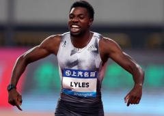 Is American Lyles ready to take over from Bolt?
