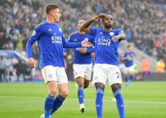 EPL PIX: Leicester thrash sloppy Newcastle 5-0