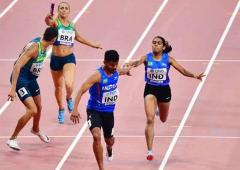 World C'ships: Indian mixed relay team finishes 7th