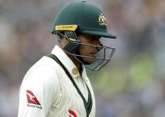 Khawaja, Stoinis named in preliminary team for UK tour