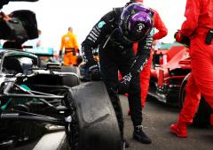 British GP tyre hassle due to wear on long final stint