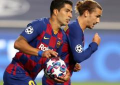 Suarez cuts Barca contract, agrees Atletico terms