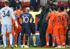 Basaksehir, PSG players walk off after alleged racism