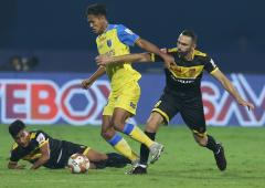 ISL: Kerala Blasters grab first win