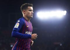 Barcelona's Coutinho to undergo knee surgery