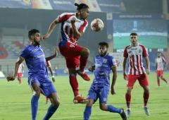 Indian Soccer: ATK punish Mumbai; Churchill on top