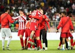 Super Cup PIX: Atletico stun Barca to reach final