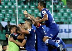 Chennaiyin down NEU, improve play-off chances