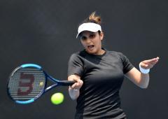 Sania-Garcia in Dubai Open pre-quarters